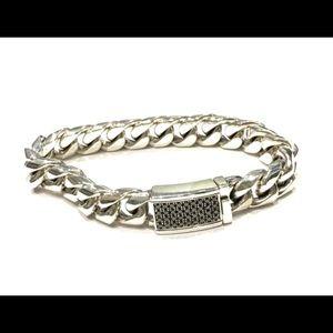 VERSANI men's diamond bracelet